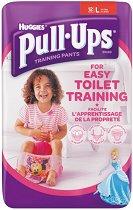 Huggies Pull Ups Girl L - Преходни гащички за еднократна употреба за деца с тегло от 16 до 23 kg -