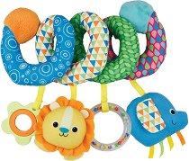 """Спирала с животни - Детска дрънкалка за столче или количка от серията """"Little Pals"""" -"""