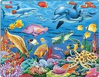 Коралов риф - Пъзел в картонена подложка - пъзел