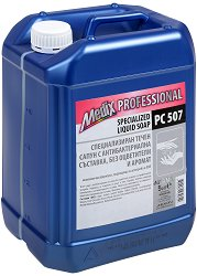Специализиран течен сапун с антибактериална съставка - Medix Professional PC 507 - Разфасовка от 5 l - крем
