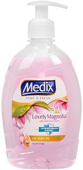 Течен сапун - Medix Lovely Magnolia - сапун