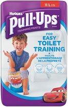 Huggies Pull Ups Boy L - Преходни гащички за еднократна употреба за деца с тегло от 16 до 23 kg - несесер