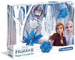 Лаборатория за кристали - Замръзналото кралство 2 - Образователен комплект - хартиен модел
