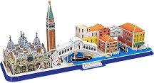 Венеция - 3D пъзел от картон -