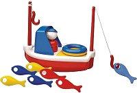 Рибарска лодка - Играчка за баня -