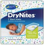 Еднократни протектори за матрак - DryNites - С размери 78 x 88 cm - продукт