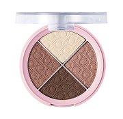 Pretty by Flormar Quartet Eyeshadow - Палитра с 4 цвята сенки за очи - продукт