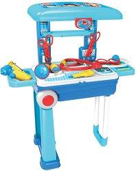 Лекарски комплект - куфар - Детски комплект с аксесоари за игра -