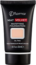 Flormar Mat Velvet Matifying Foundation - Фон дьо тен за лице с матов ефет -