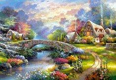 Пролетна гледка - пъзел