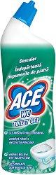 Гел за премахване на котлен камък от тоалетни - ACE WC Toilet Gel Descaling - Разфасовка от 0.700 l - продукт