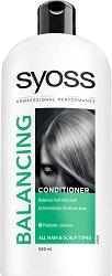 Syoss Balancing Hair Conditioner - Балансиращ балсам за всеки тип коса - маска