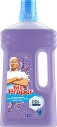 Универсален почистващ препарат с аромат на лавандула - Mr. Proper - Разфасовка от 1 l -