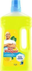 Универсален почистващ препарат с аромат на лимон - Mr. Proper - Разфасовки от 1 l и 1.5 l -