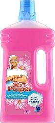 Универсален почистващ препарат с флорален аромат - Mr. Proper - Разфасовка от 1 l -