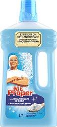 Универсален почистващ препарат със сода бикарбонат - Mr. Proper - Разфасовка от 1 l -