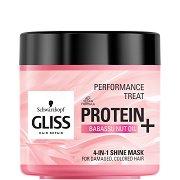 Gliss 4-in-1 Shine Mask - Маска за блясък за увредена и боядисана коса - продукт
