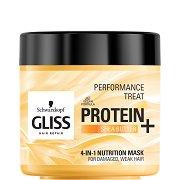 Gliss 4-in-1 Nutrition Mask - Подхранваща маска за увредена и слаба коса - гланц
