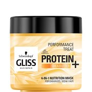 Gliss 4-in-1 Nutrition Mask - Подхранваща маска за увредена и слаба коса - боя