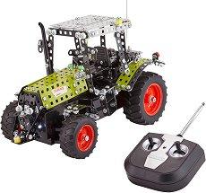 "Трактор - Claas Arion 430 - Метален конструктор с дистанционно управление от серията ""Junior-Series"" - образователен комплект"