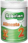 Преходно мляко - Bebelan Lacta Alimenta 2 - Метална кутия от 400 g за бебета от 6 до 12 месеца -
