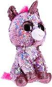 """Еднорог - Sparkle - Плюшена играчка с пайети от серията """"Flippables"""" - раница"""
