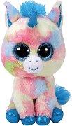 """Еднорог - Blitz - Плюшена играчка от серията """"Beanie Boos"""" - играчка"""