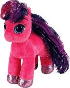 """Пони - Ruby - Плюшена играчка от серията """"Beanie Boos"""" - играчка"""
