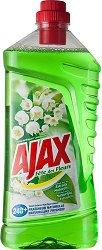 Универсален почистващ препарат с аромат на момина сълза - Ajax - Разфасовка от 1 l -
