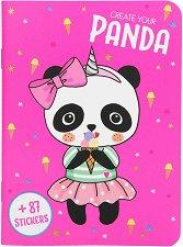 Панда: Облечи своето малко приятелче - творчески комплект