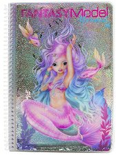 Топ модел: Fantasy mermaid - книжка за оцветяване - несесер