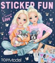 Топ модел: Кученца - книжка за оцветяване - раница
