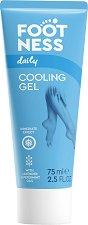 Footness Daily Cooling Gel - Охлаждащ гел за крака с мента и лавандула - душ гел