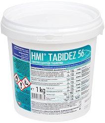 Таблетки за дезинфекция на помещения и повърхности - HMI Tabidez 56 - За професионална употреба - разфасовка от 1 kg - боя