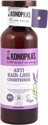 Dr. Konopka's Anti Hair-Loss Conditioner - Натурален балсам против косопад - червило