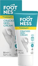 Footness +Therapy Cracked Heel Cream - Крем за напукани пети - сапун