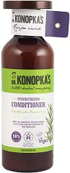 Dr. Konopka's Strengthening Conditioner - Натурален укрепващ балсам за слаба коса - душ гел