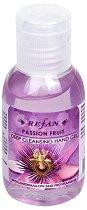 Дълбоко почистващ гел за ръце - Refan - С 65% спирт, в разфасовка от 50 ml - гел