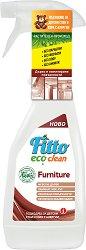 Почистващ препарат с растителни съставки за мебели - Fitto Eco Clean - Подходящ за детски стаи и хора с алергии - разфасовка от 500 ml -