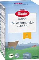 Мляко за кърмачета - Lactana Bio 1 - Опаковка от 600 g за бебета от 0 до 6 месеца - пюре