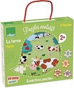 Ферма - Комплект от 4 пъзела - пъзел