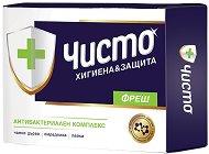 Антибактериален сапун - Чисто Фреш - мокри кърпички