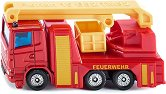 """Противопожарен камион - Метална количка от серията """"Super: Emergency rescue"""" - играчка"""