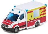 """Линейка - Метална количка от серията """"Super: Emergency rescue"""" - количка"""