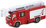 """Пожарникарският камион - Magnus Multistar - Метална играчка от серията """"Super: Emergency rescue"""" - количка"""