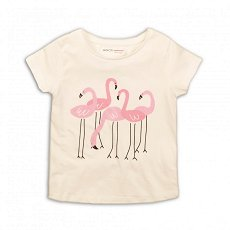 """Детска тениска - 100% памук от серията """"MINOTI Basics"""" - продукт"""