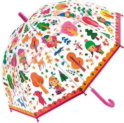 Детски чадър - Гора - играчка