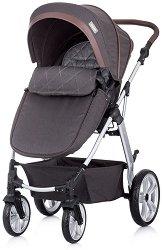 Комбинирана бебешка количка - Fama 2020 - С 4 колела -