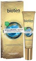 Bioten Hyaluronic Gold Eye Cream - Околоочен крем против бръчки с хиалуронова киселина - серум