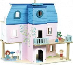 Обзаведена къща за кукли -